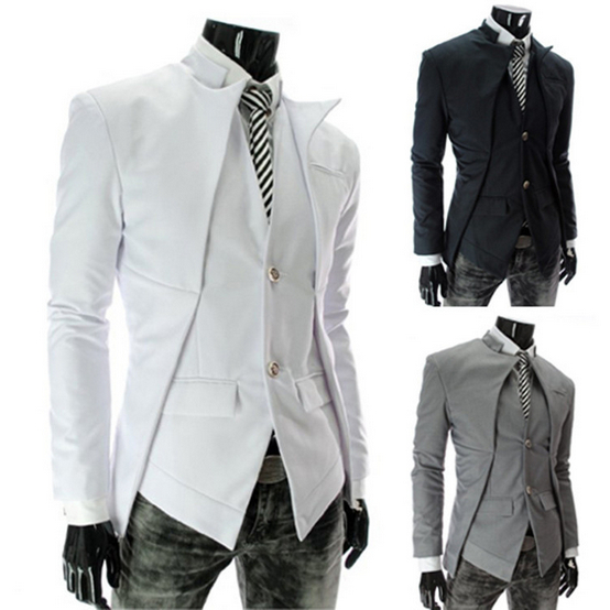 Mens Long Suit Jacket White Promotion-Shop for Promotional Mens ...