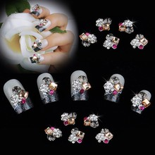 Wholesale/ Nails Supply 3D Flowers DIY Acrylic Nails Design/ Nails Art, Unique Gifts 24(China (Mainland))
