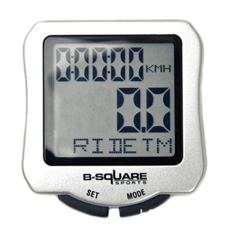 Sigma Bike Computer Luminous B-SQUARE Waterproof Bicycle Speedometer Frame Wheel Stopwatch Cycling Meter Counter ciclocomputador(China (Mainland))