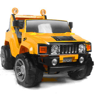 Berry good children electric car stroller double Hummer four-wheel electric car ride car toy car children's Games(China (Mainland))