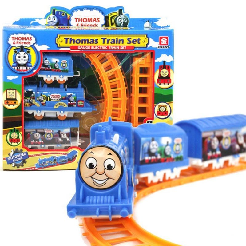 New Thomas Friends Electric Train Railway Track Running DIY Play Set Toy Fun For All AGES Gift Intelligence Collection(China (Mainland))