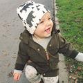 2016 Fashion Autumn Baby Hat Knitted Warm Cotton Toddler Beanie Baby Cap Kids Girl Boy Print