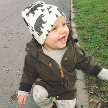 2016 Fashion Autumn font b Baby b font Hat Knitted Warm Cotton Toddler Beanie font b