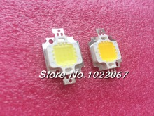 100PCS 10W LED Integrated High power LED Beads White/Warm white 900mA 9.0-12.0V 900-1000LM 24*40mil Taiwan Huga Chips
