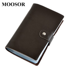 Buy 2017 Card Holder Wallet Genuine Leather 90 Card Places Big Capacity Business Credit Card Holder Organizer ID Card Holders DC34 for $8.99 in AliExpress store