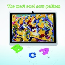 Suitable for promotion 7inch android tablets pc for kids and babys tab 1G 16G becutiful  wifi otg dual camera white color(China (Mainland))