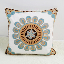 Embroidery Cotton Cushion Pillow
