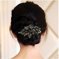 Fashion hair clips for women wedding hair barrette Vintage Rose Hairpins hair accessories for women prendedor