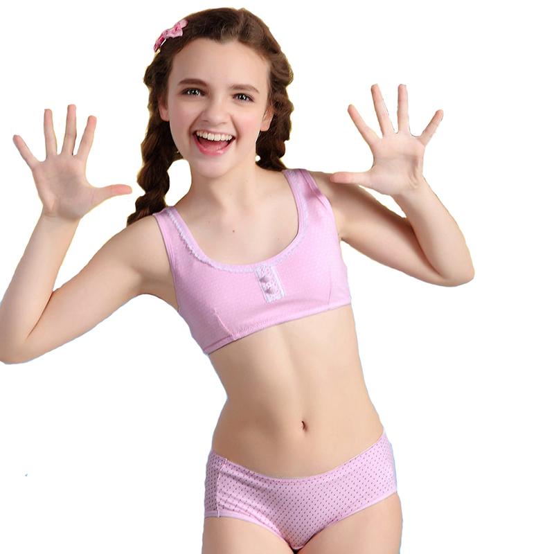 girl training bra Young teen