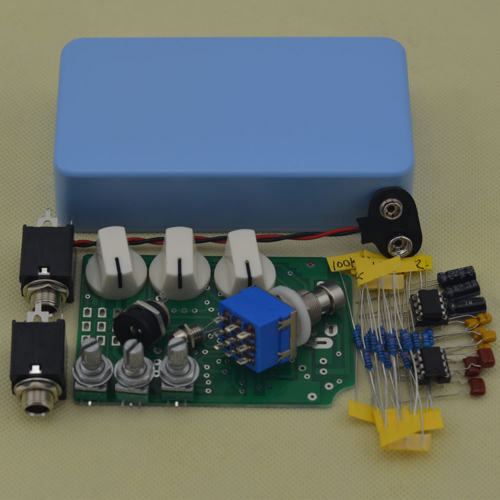 DIY Overdrive Guitar Effect Pedal True Bypass Electric guitar stompbox pedals OD2 Kits LB(China (Mainland))
