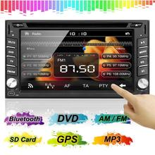 SEND SAL 2015 New 6.2'' Double 2DIN Car Stereo DVD Player Bluetooth GPS Navigation HD TV+Camera(China (Mainland))