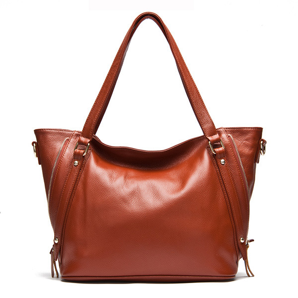2014 New Genuine Leather Casual Women Handbag Ladies Fashion Satchel