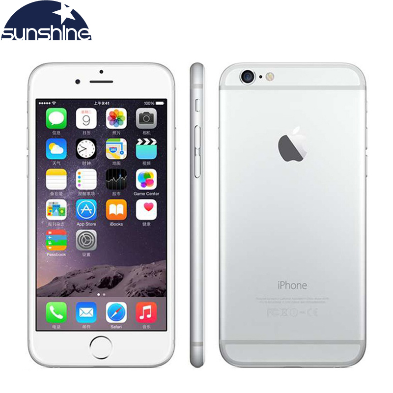 "Original Used iPhone 6 Plus iOS Dual Core Unlocked Smartphone 5.5"" 8MP Camera 16GB/64GB/128GB ROM Mobile Phone(China (Mainland))"