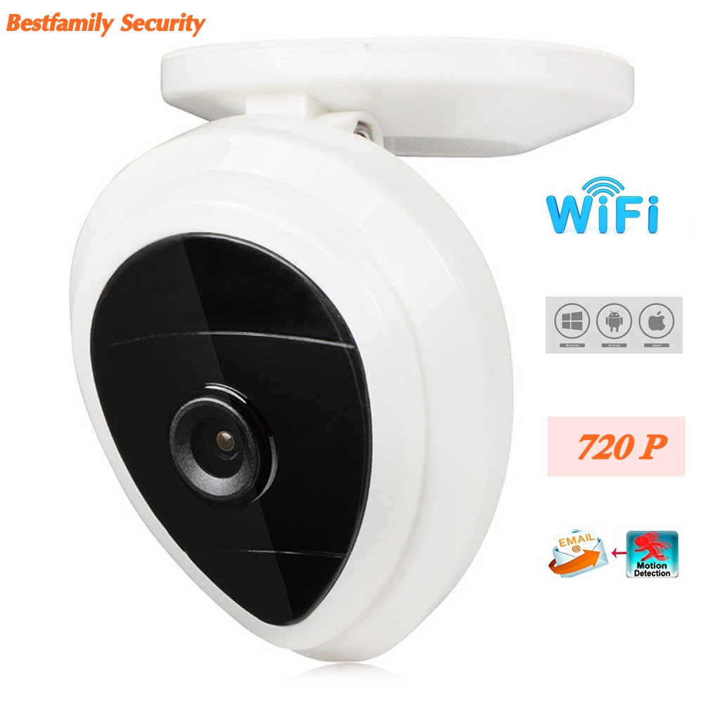 720P Wifi IP Camera Wireless Motion Detection 1/4 inches CMOS Sensor IR Built-in Mic Portable Baby Monitor Security Camera(China (Mainland))