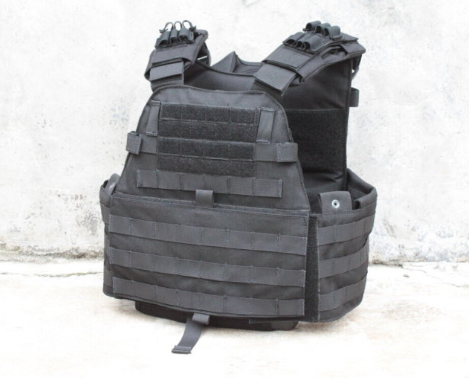 TMC Tactical EG Assault Plate Cut Swat Black Plate Carrier Vest for airsoft paintball Hunting