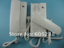 Free shipping RL-209 Special-Linerphone Two Way Intercom Door Phone for Double Rooms (Operation distance 200m)(China (Mainland))