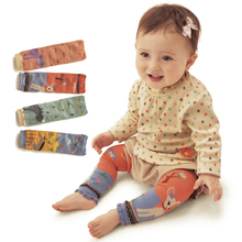 4Pair/lot 0-5 Year Brand Baby Warm Animal Lmage Knee Pads Cotton Cartoon Children's Kids Leg Warmers Boy Girls Socks 4 Style(China (Mainland))