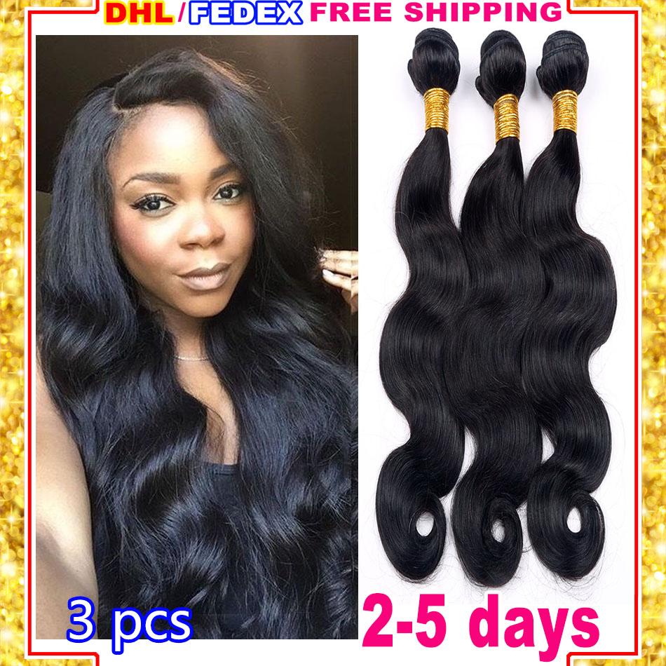 Grade 7A Unprocessed Virgin Peruvian Hair Cheap Peruvian Virgin Hair Body Wave 3 Bundle Deals Peruvian Hair Bundles DHL Shipping<br><br>Aliexpress