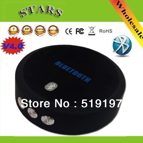 The fashional bluetooth 4.0 music receiver telephone chatting is free and relaxed for smart phone MID and laptop,free shipping.