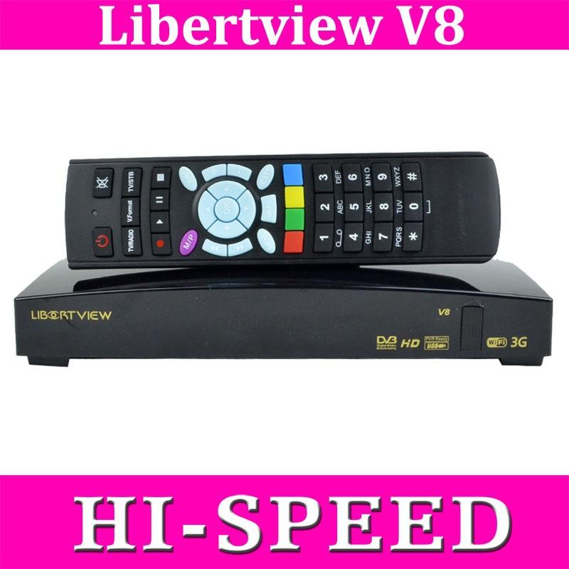 Libertview V8 / S V8 HD Satellite Receiver Suppot Card Sharing CCcam NEWcam MGcam DVB-S2 Receiver web tv SKYBOX V 8/ OPENBOX V8S(China (Mainland))
