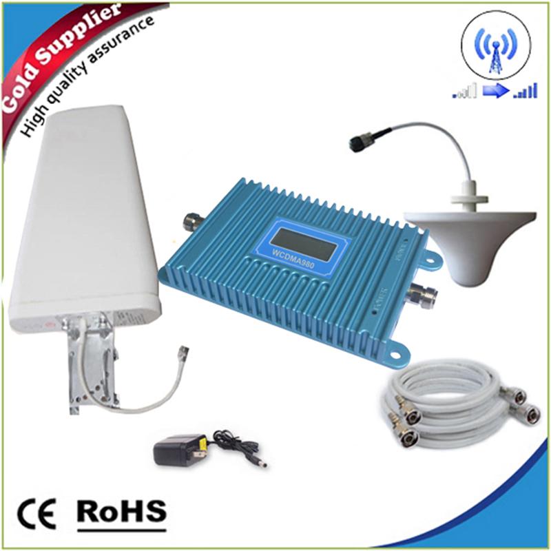 Mobile repetidor celular 3g repeater 2100MHz booster 60db HSPDA Amplifier Signal Repeater Cell Phone Amplifier Enhancer(China (Mainland))