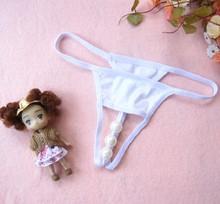 Peculiar shape hole low waist cotton beaded women s sexy lingerie sexy underwear T 6870