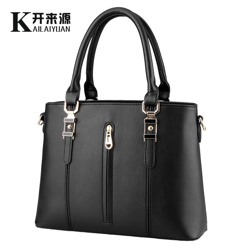 100% Genuine leather Women handbags 2017 New spring models zipper bag ladies fashion handbags Shoulder Messenger Handbag(China (Mainland))