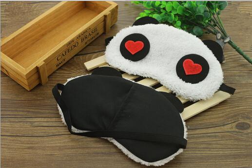 Venda caricatura Panda máscaras de dormir máscara de olho remover olheiras olho Gel de gelo