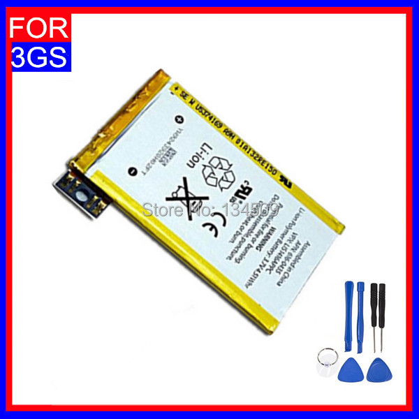 High Quality 1220mAh Li-ion Batterie Batterij for Apple Iphone 3GS Battery For Iphone 3GS Bateria Free Tool Free Shipping(China (Mainland))