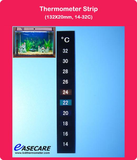 14-32 Celsius degree Fish Tank Aquarium Thermometer, Free Shipping by DHL, 500pcs/lot(China (Mainland))