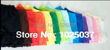 Solid Color Baby Shorts With Double Ruffle Children Cotton Shorts Girls Boys Clothes  Wholesale Free Shipping(China (Mainland))