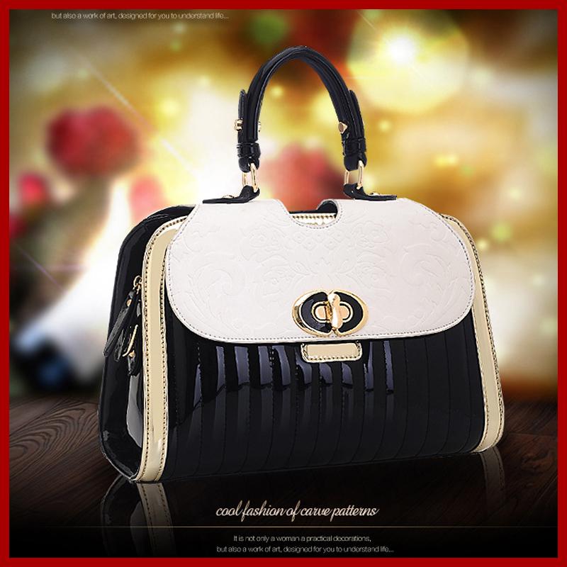 2015 New Elegant Women Messenger Bags Classic Stone Grain Women Leather Handbags Chain Clutch Women Handbag<br><br>Aliexpress