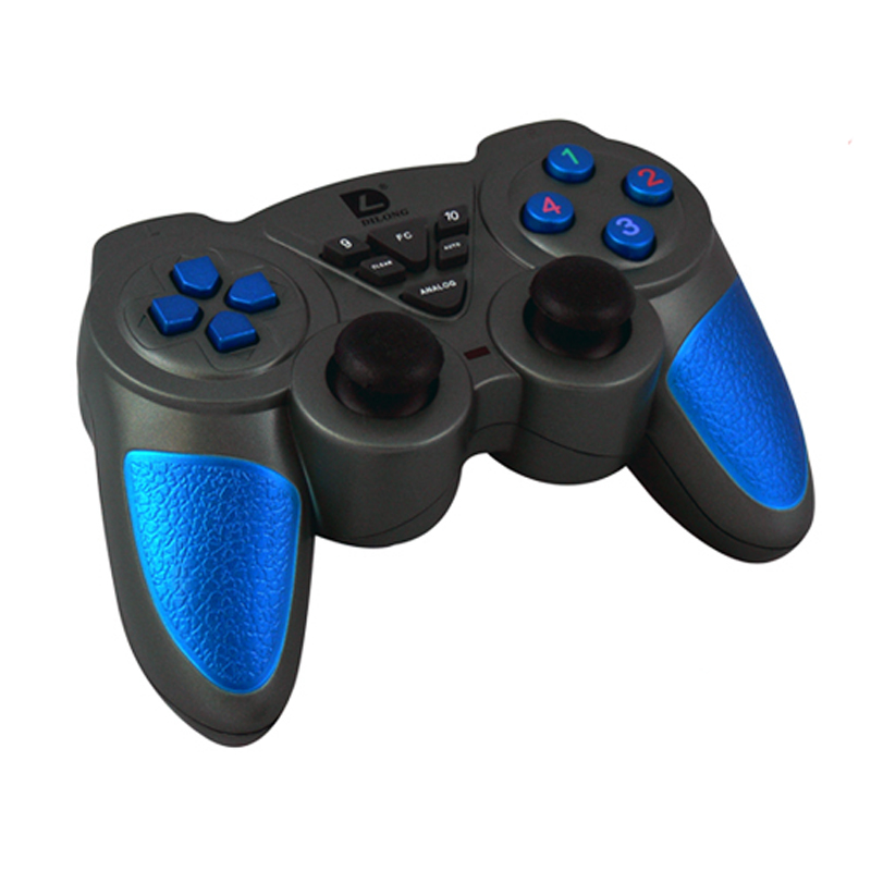 2.4G USB Wireless Controller Dual Vibration Game Pad for Pc Phone and Game Player(China (Mainland))