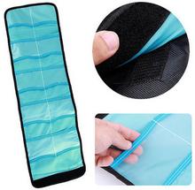 10 Pockets Lens Filter Wallet Case Bag Fits UV CPL MCUV FD ND star filter Slots Cokin P color - Sunshine digital store