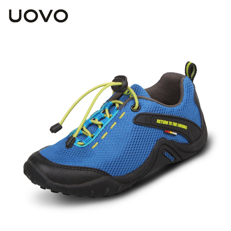 UOVO 2016 Summer Kids shoes fashion boys girls Mesh Upper shoes high qualiy Sneakers Children shoes Breathable shoes boys<br><br>Aliexpress