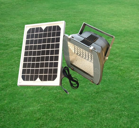 Free shipping Green product 5w outdoor led solar powered