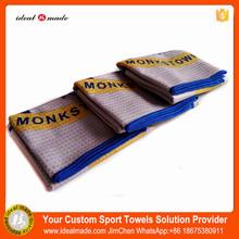 Free shipping 50pcs/lot Dongguan China Products Print Custom Wholesale Polyester Golf Towel