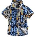 New arrival Hawaiian floral shirt cotton 100 for boy D28