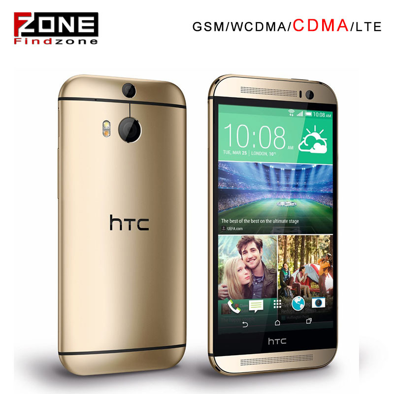 "Original HTC One M8 Unlocked GSM/WCDMA/CDMA Quad-core RAM 2GB Mobile Phone HTC M8 5.0"" 3 Cameras Phone(China (Mainland))"