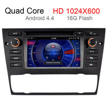 Capacitive screen Android 4.4.4 Car DVD Player GPS Radio for BMW E90 E91 E92 E93 with Built-in WIFI 3G Bluetooth Stereo Radio