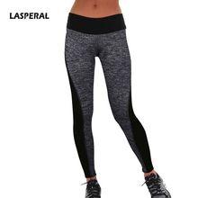 LASPERAL 2016 Women's Sport Leggings Two-Sided Fitness High Waist Elastic Women Leggings Workout Gym Leggings Jeggings Pants 1PC(China (Mainland))