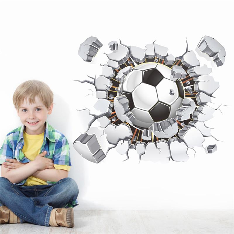 online get cheap soccer wall decals aliexpress com popular wall decal window view buy cheap wall decal window