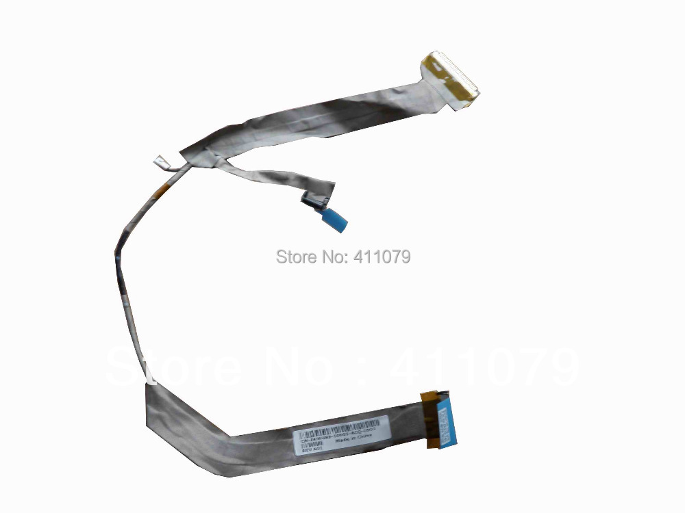 "New FOR Dell XPS M1330 RW488 LCD 13.3"" Series LCD Cable Computer 50.4C310.101(NC18)(China (Mainland))"