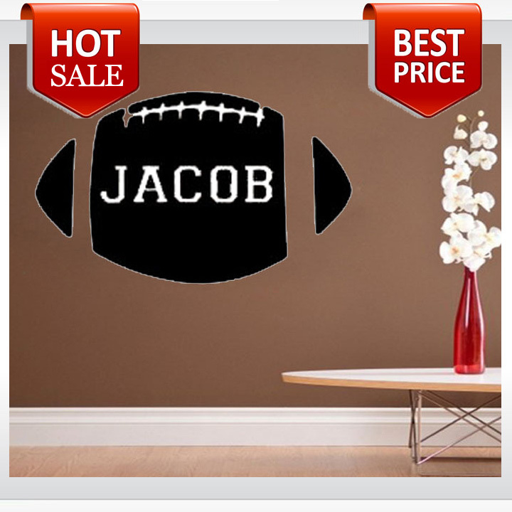 Huge Football wall decals vinyl stickers home decor living room decoration nursery wall decal wall stickers for kids(China (Mainland))