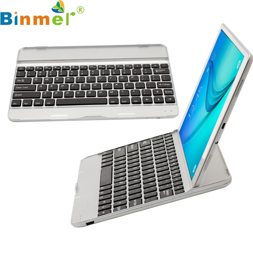 Binmer Mecall Tech Wireless Bluetooth keyboard Case Touchpad for Samsung Galaxy Tab A T550/T551(China (Mainland))