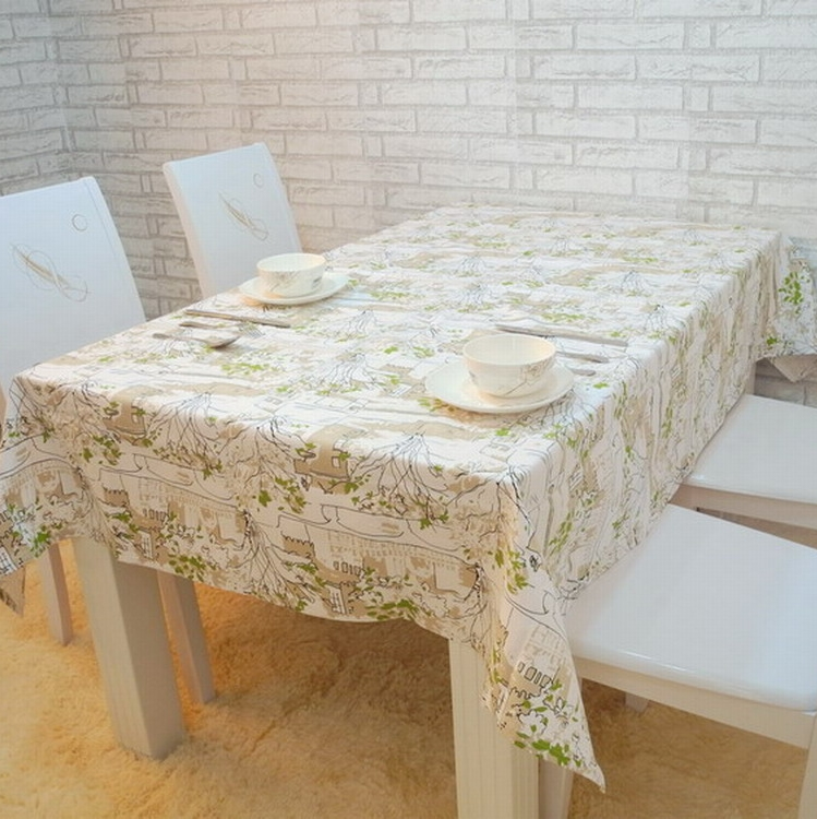 Rustic fabric fashion 100% cotton table cloth tablecloth dining table cloth table runner table cloth sofa towel gremial(China (Mainland))