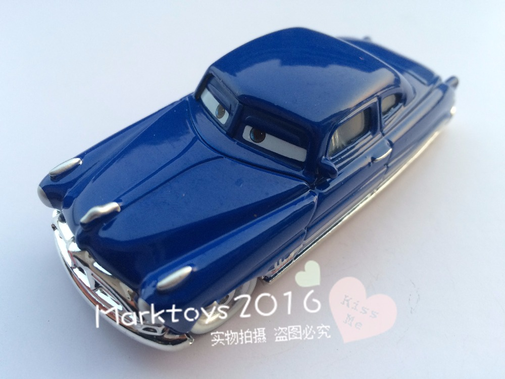 Pixar Cars Doc Hudson Diecast Metal Toy Car 1:55 Loose Brand New In Stock & Free Shipping(China (Mainland))