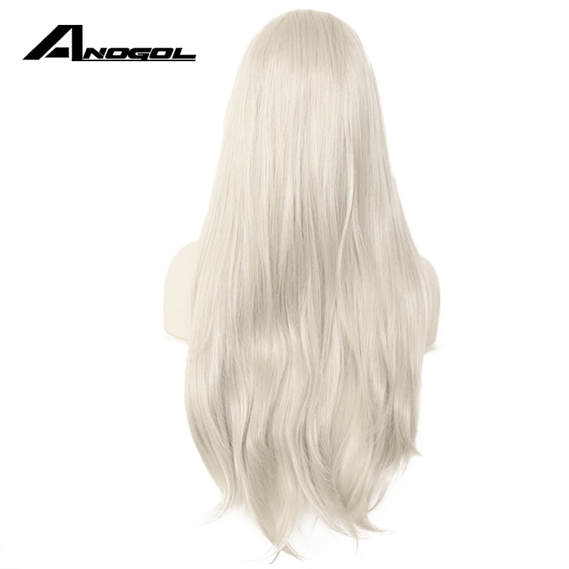 Light-Grey-Color-Hand-Tied-Synthetic-Lace-Front-Wigs-Glueless-Futura-Heat-Resistant-Fashion-Lace-Front (3) +