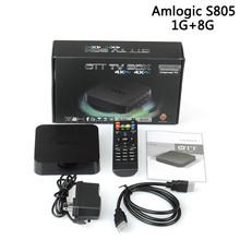Inteligente Android Quad 4 Núcleos M8 HDMI Internet TV Box 1G/8G Reproductor Multimedia IPTV WiFi Miracast DLNA Set-top box
