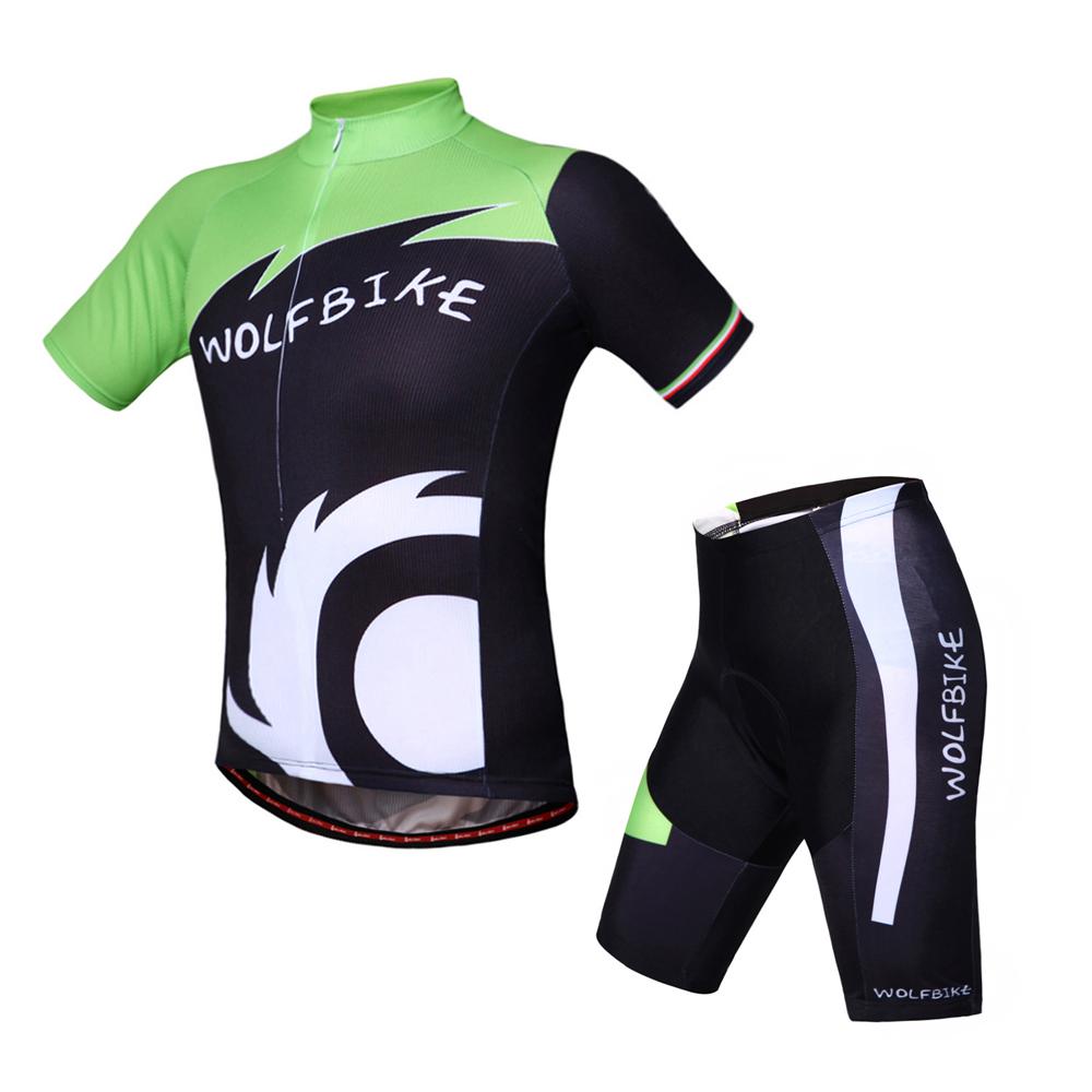 Breathable Cycling Jersey Quick-Dry Ropa Ciclismo Bike Jerseys Cycling Clothing Sets Short Sleeves Jersey Cycling Padded BC423(China (Mainland))